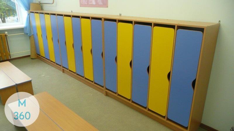 Шкафчик для детского сада Перу Арт 005398374