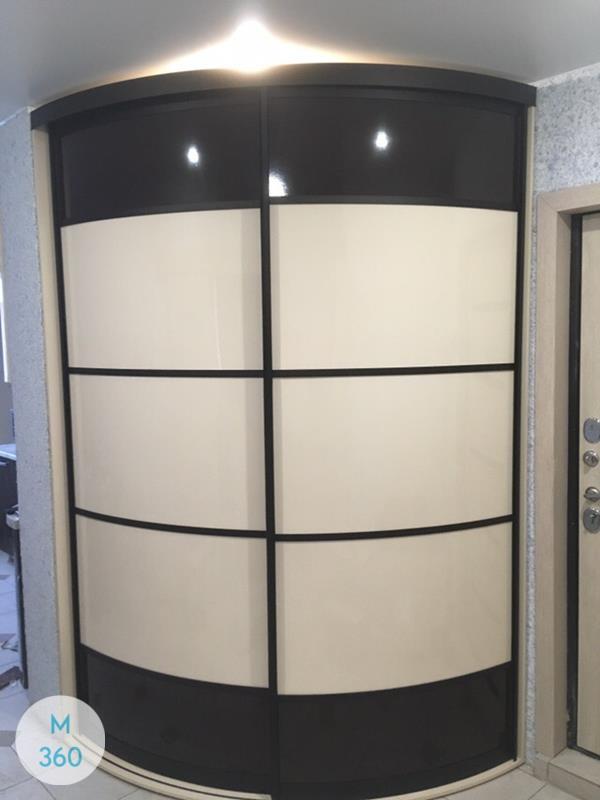 Радиусный шкаф в прихожую Могадишо Арт 005528876
