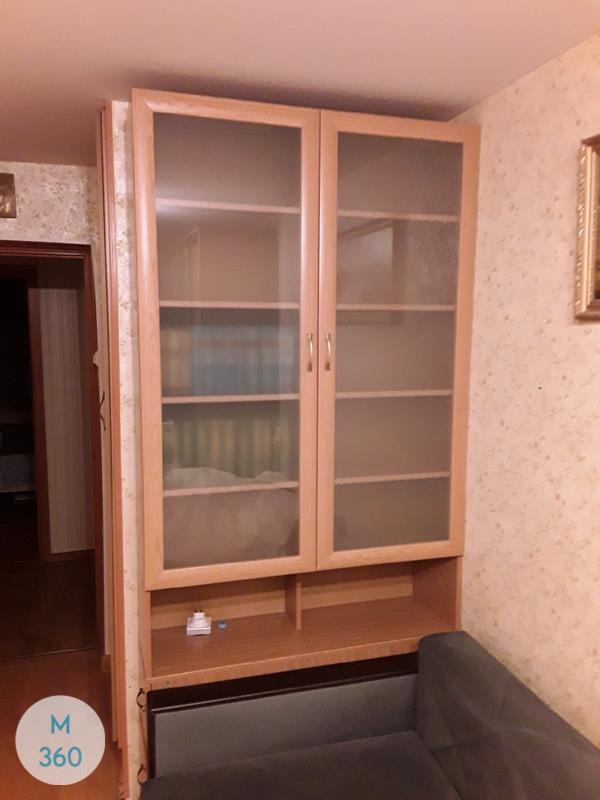 Книжный шкаф со стеклянными дверцами Каука Арт 005724180