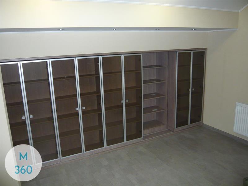 Книжный шкаф со стеклянными дверцами Меридиан Арт 005740894
