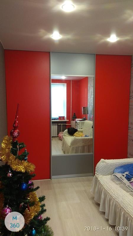 Красный шкаф Карлайл Арт 006102939