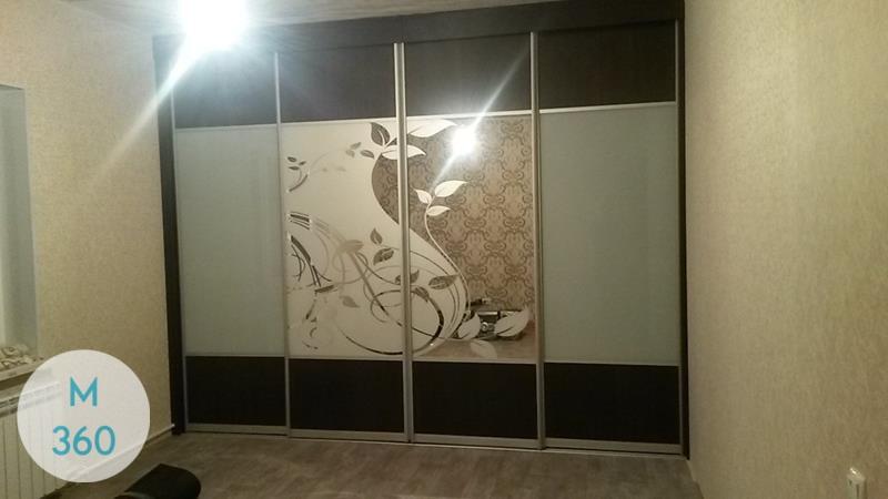 Шкаф купы с пескоструйным рисунком Валентино Арт 006270424