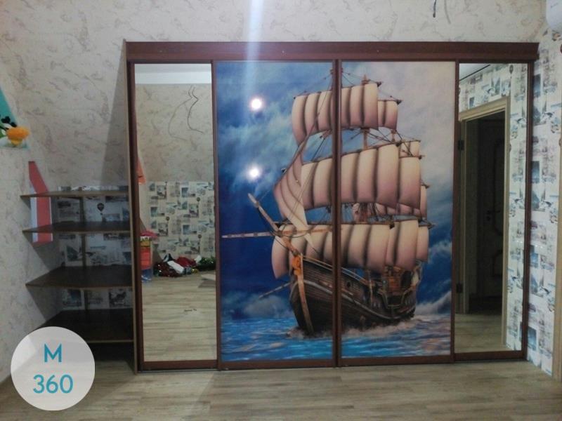 Шкаф с фотопечатью Амати Арт 006489593