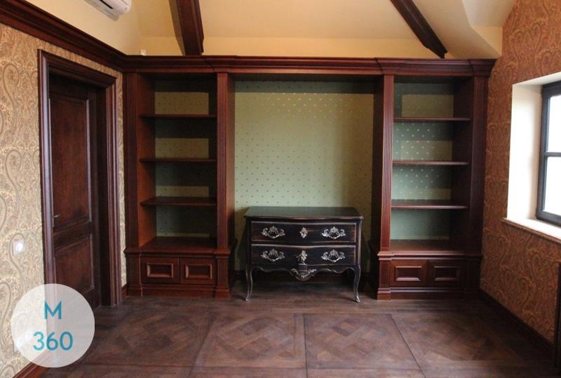 Книжный шкаф со стеклянными дверцами Юар Арт 006823904