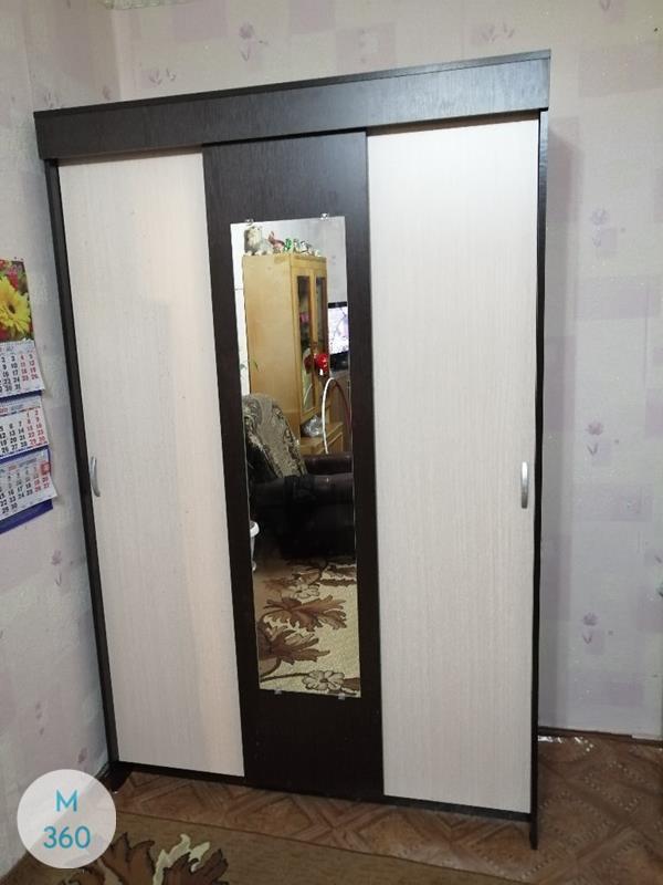Шкаф купе с ножками Альберт Арт 007002061