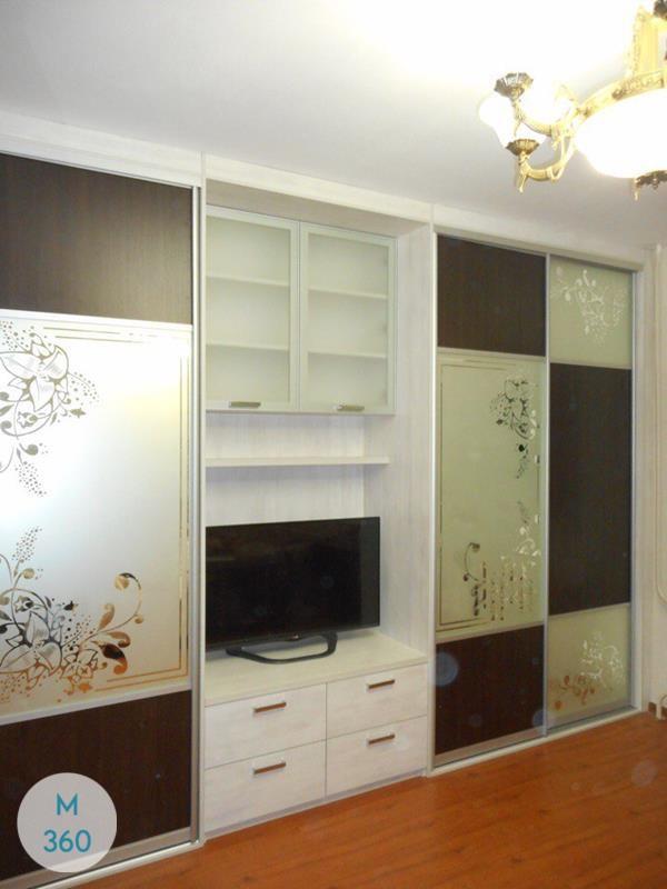 Шкаф купы с пескоструйным рисунком Николетта Арт 007004688