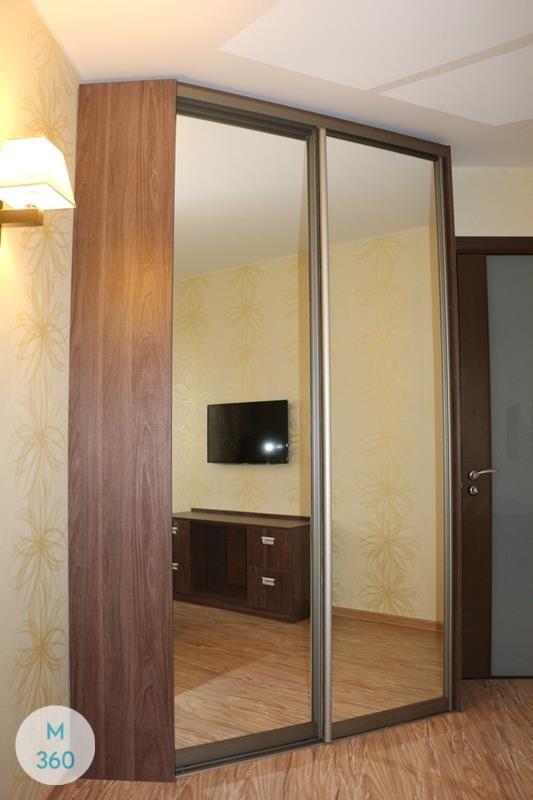 Коричневый шкаф купе Кускоквим Арт 007028120