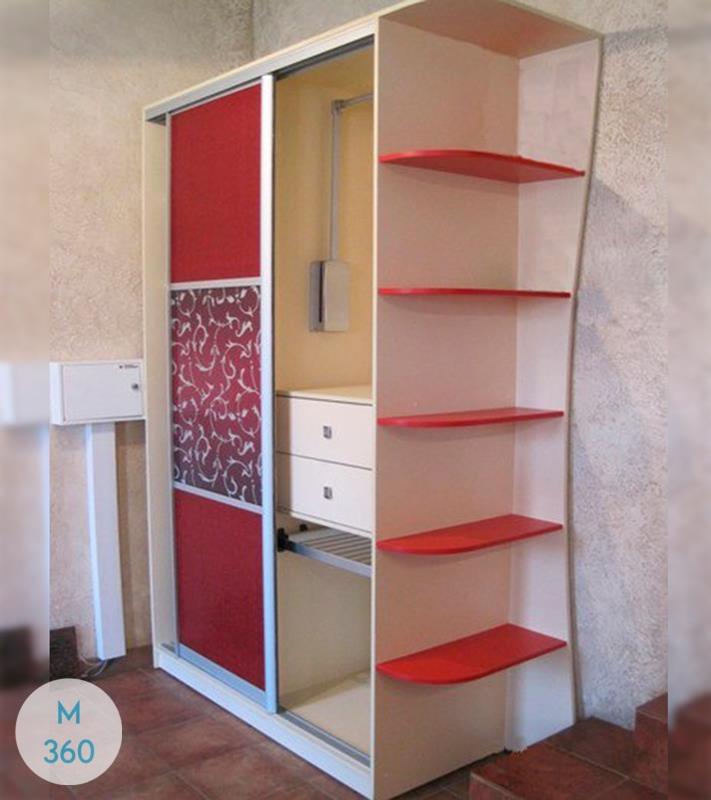 Шкаф-купе стеклянные двери Ишим Арт 007050507