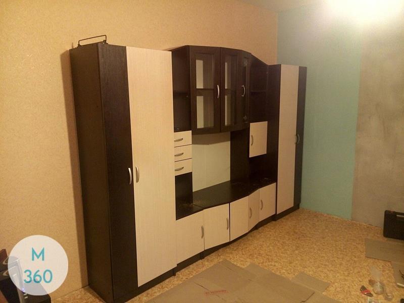 Встроенный шкаф с телевизором Пекос Арт 007141403