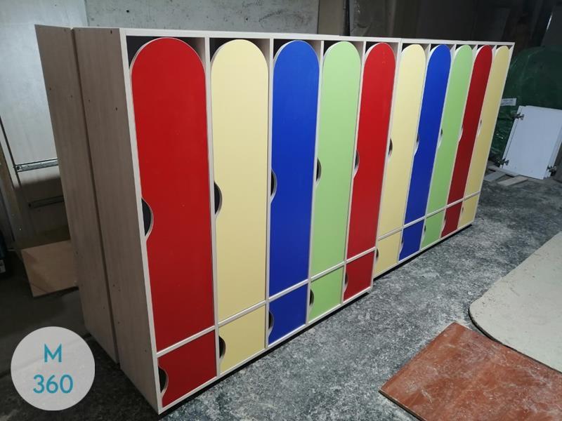 Шкафчик для детского сада Белоруссия Арт 007278515