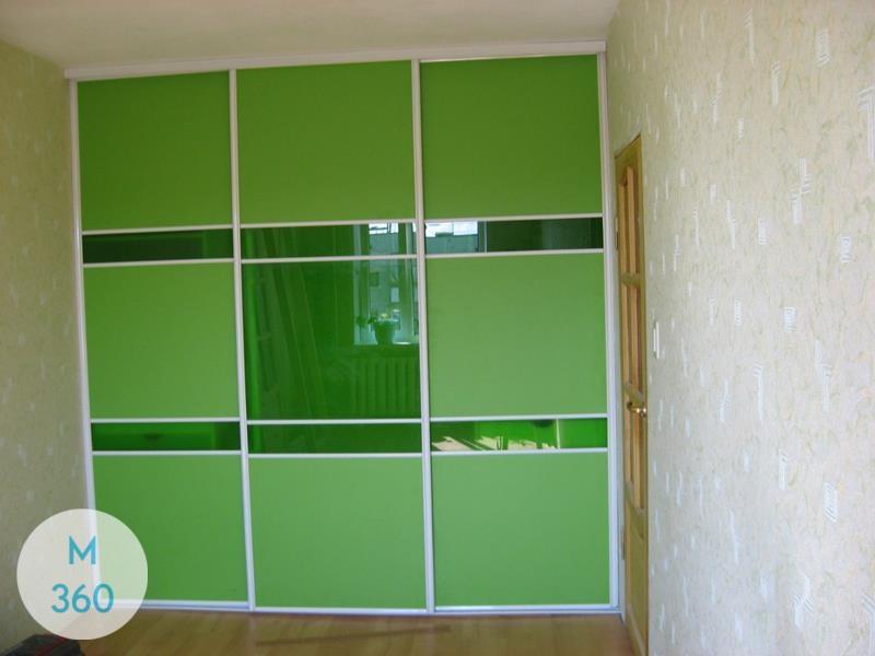Зеленый шкаф купе Буркина-Фасо Арт 007330022