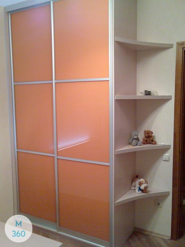 Оранжевый шкаф купе Синтия Арт 007409614