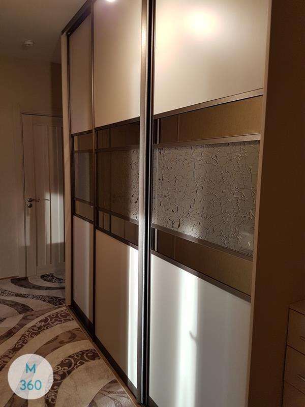 Шкаф купе со стеклом Бриджтаун Арт 007417180