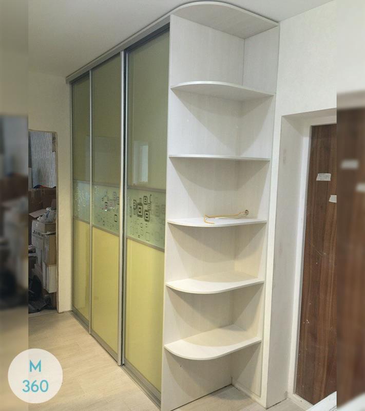 Зеленый шкаф купе Клин Арт 007505362