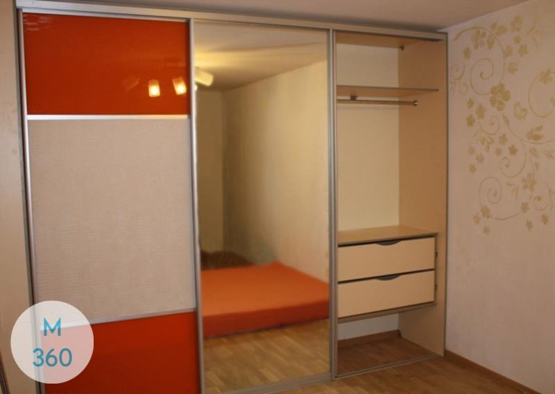 Оранжевый шкаф купе Фленсбург Арт 007525677