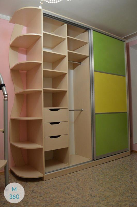 Зеленый шкаф купе Инганнаморте Арт 007713063