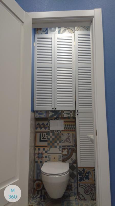 Шкаф с жалюзийными дверцами Антигуа Арт 007940253