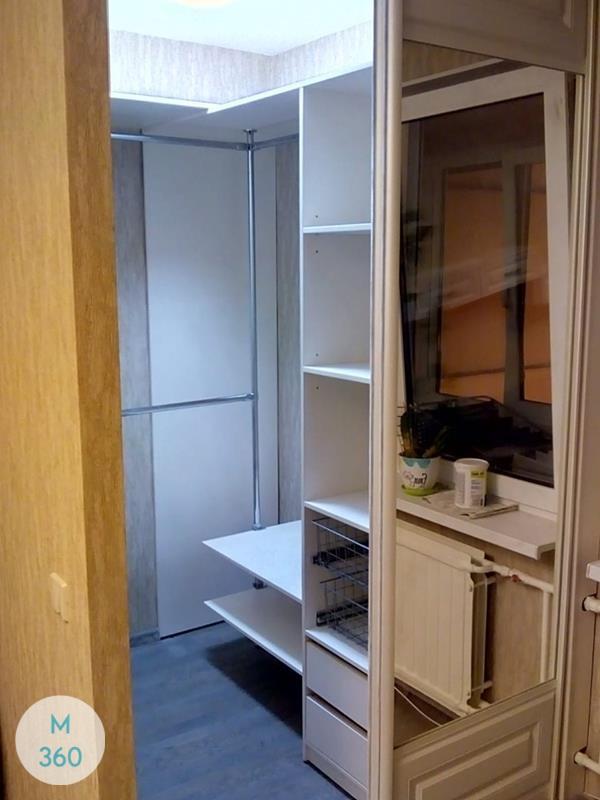 Белая гардеробная Молдавия Арт 008270204