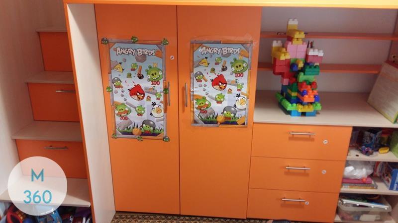 Детский книжный шкаф Мэнлайо Арт 008272156