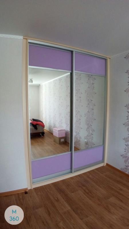 Фиолетовый шкаф купе Грешам Арт 008293574