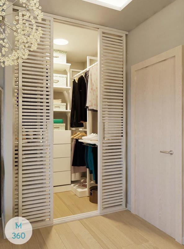 Шкаф с жалюзийными дверцами Ковров Арт 008398574