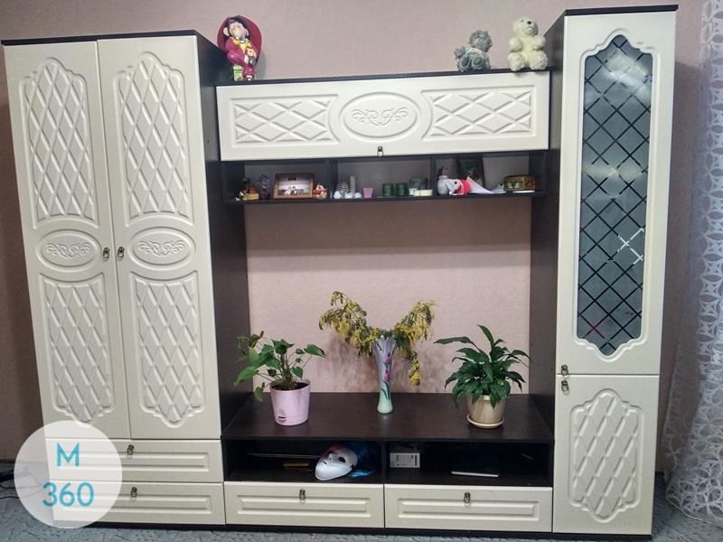 Распашной шкаф со стеклянной дверью Глендейл Арт 008615855