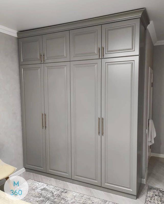 Распашной шкаф матовый Риккарда Арт 008683311