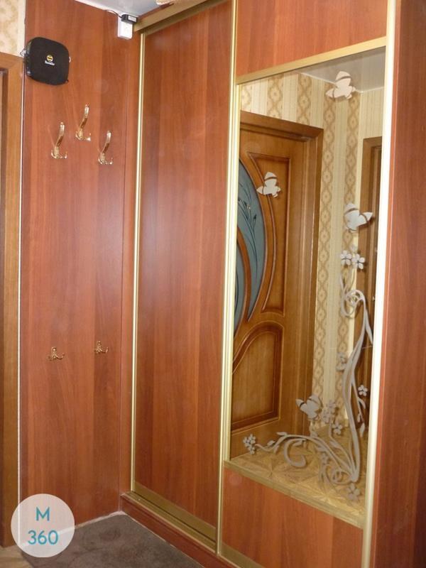 Коричневый шкаф купе Эль-Пасо Арт 008863738