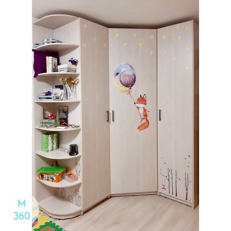 Трехстворчатый распашной шкаф Уэст-Валли-Сити Арт 008970336