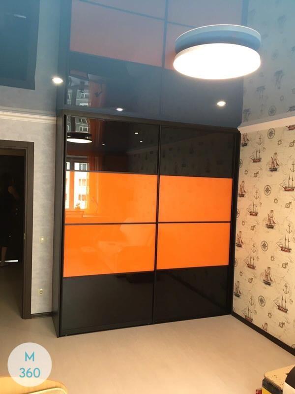 Оранжевый шкаф купе Мадисон Арт 009079348