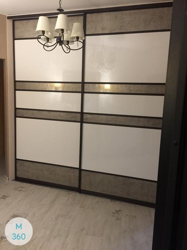 Дверь купе для встроенного шкафа Питерборо Арт 009330551
