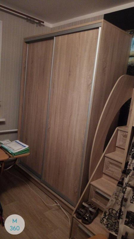 Светлый с темным шкаф купе Эулалия Арт 009599323
