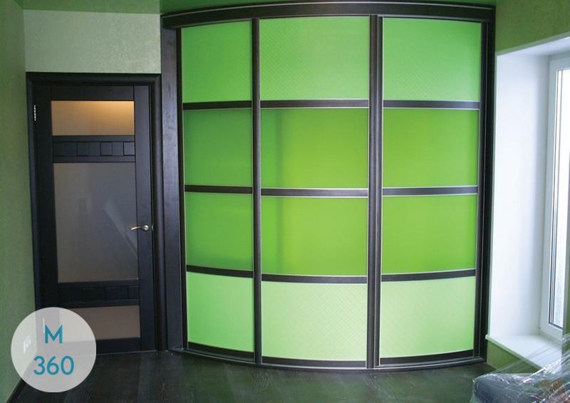 Радиусный шкаф в прихожую Вулвергемптон Арт 009730037