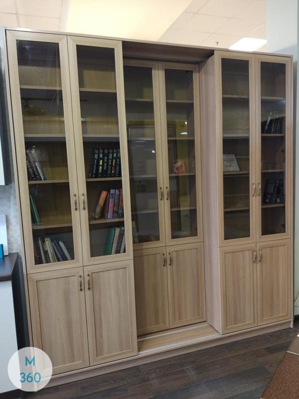 Книжный шкаф со стеклянными дверцами Мюллер Арт 009762975