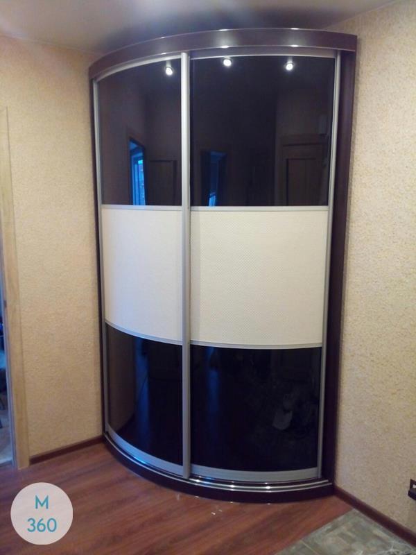 Радиусный шкаф в прихожую Глориоза Арт 009836880