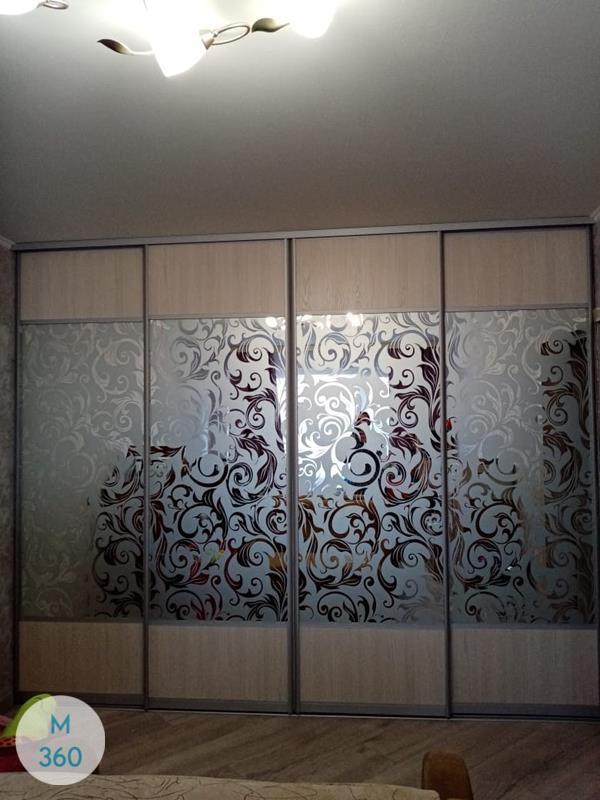 Шкаф купы с пескоструйным рисунком Лозана Арт 009851278