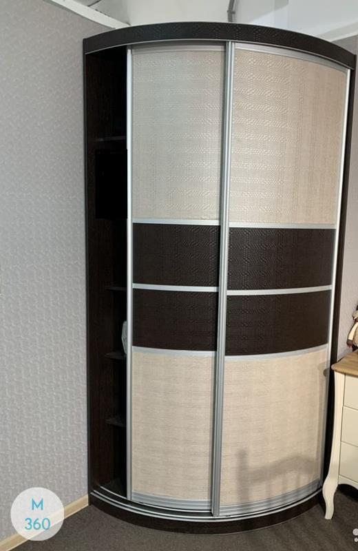 Радиусный шкаф в прихожую Равенна Арт 009934724